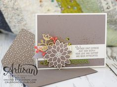 Crush On Colour: Flourishing Phrases - Stampin' Up! Artisan Design Team Blog Hop
