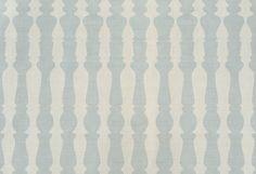 """362436  Designed by Studioilse  Colourway: Aqua  Content: 100% Linen  Width: 55.1""""/140 cm  Repeat: 24.4""""/62 cm"""