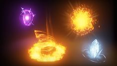 KY Magic FX 04 by Kakky in FX - UE4 Marketplace (Complex Material, Inspiration, 26/02/2016)