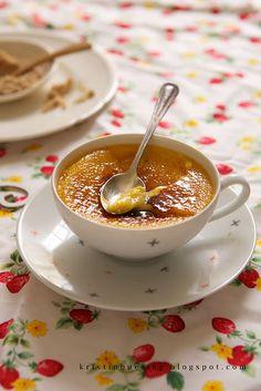 yummy pumpkin creme brulee
