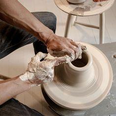 here's one I made earlier :: tortus copenhagen - confessions of a design geek Tortus Copenhagen, Pottery Wheel, Ceramic Pottery, Cool Designs, Geek Stuff, Clay, Ceramics, Wheel Throwing, Illustration