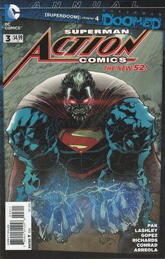 Action Comics Annual # 3 DC Comics The New 52!