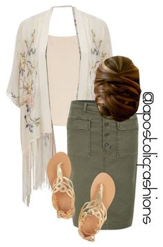 """""""Apostolic Fashions #1213"""" by apostolicfashions on Polyvore featuring Totême, Miss Selfridge, J Brand and Ancient Greek Sandals"""