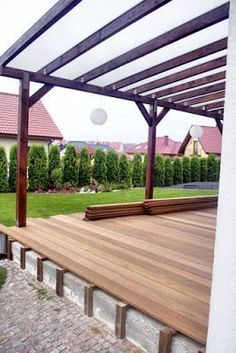 Pergola Attached To House Vines - - Pergola Rusticas - - Pergola Terrasse Plante Outdoor Decor, Pergola Lighting, Easy Patio, Pergola Plans, Patio Flooring, Hot Tub Pergola