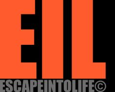 """www.escapeintolife.com (""""Escape Into Life, online arts journal and literature, blending the two together until they become one poem- a work of Visual Poetry"""")"""