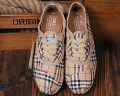 TOMS Shoes with BURBERRY!