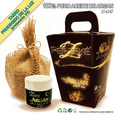 ARGAN Aceite orgánico Puro 100% Certificado PERZEKE  - 25ml
