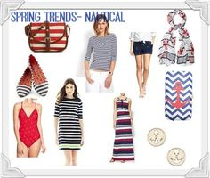 Spring Trends 2014- Nautical