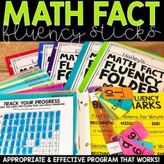 Math Fact Fluency Sticks are a powerful tool for you to use in your grade or grade classroom. I believe in this system because it is developmentally appropriate, research based, and meets the needs and ability levels of all the students in your 2nd Grade Classroom, 1st Grade Math, Math Classroom, Second Grade, Classroom Ideas, Classroom Crafts, Grade 2, Math Fact Fluency, Fluency Practice