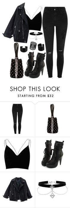 """1224."" by asoul4 on Polyvore featuring River Island and Alexander Wang"