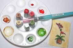 Copic Watercoloring by Sharon Harnist