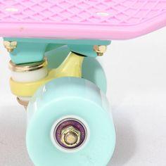 skate kawaii Grunge pink pastel skateboard pale soft grunge lil-lambb