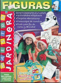 Educación Preescolar: Maestra Jardinera de Figuras [Argentina]