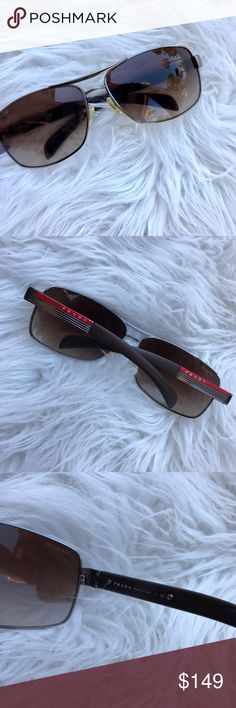 Authentic Prada Sunglasses These have a wide fit and some chipping which is pictured. Open to offers Prada Accessories Sunglasses