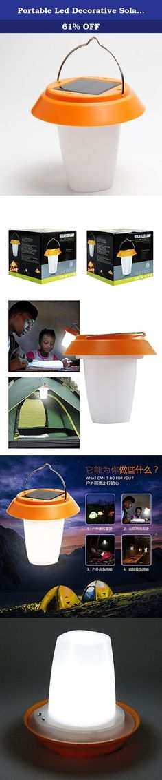 Portable Led Decorative Solar Rechargeable Camping Lantern Lamp with Solar and Micro USB Charging Method. Idea for Green Life: Acmeshine Solar Lantern Light provides you the safety and security of having light when you need it most, whether during a power outage or a weekend camping trip. Designed as a replacement for the kerosene lantern for rural off-grid households in developing countries, We utilize the world's best product design principles, along with cutting-edge solar and LED...