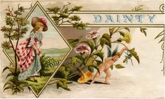 Pretty Vintage Cigar Box Label! - The Graphics Fairy