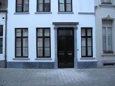 Dubbele voordeur te Mechelen