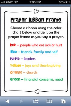 """I found lots of ribbon prayer activities. It looks visually appealing and meaningful to weave paper """"ribbon"""" prayers into a ribbon board. It can track when prayers are answered and help kids define the parts of prayer. Prayer Corner, Prayer Wall, Say A Prayer, Prayer Room, Prayer Board, Kids Prayer, Prayer Ideas, School Lessons, Lessons For Kids"""