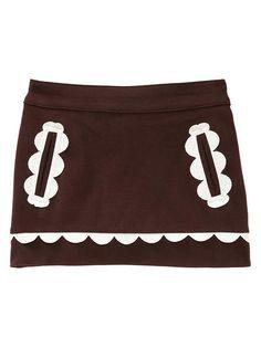 Baby Gap Toddler Girls Penelope Scalloped Ponte Skirt 5T Adorable RV$34 95 | eBay