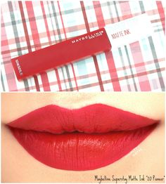Maybelline Superstay Matte Ink Liquid Lipstick | 20 Pioneer: Review and Swatches