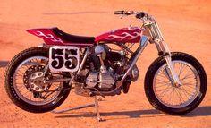 Ducati 750GT Trackmaster flat tracker
