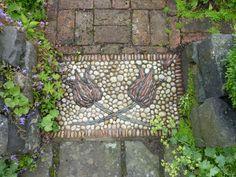 visite de jardins - Page 6 - le jardin par passion... Pebble Mosaic