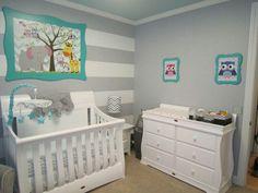 Amazing nursery room design.