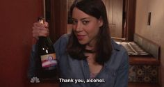Two things about August Fridays: 1) a month from now well be reveling in the previous nights Parks and Recreation and 2) its never too early to start drinking. So it only makes sense as we begin our countdown to Parks  Recs glorious return we take a look quick look back at some of the well documented finest booze-related moments in Pawnee history.