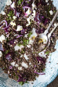 Beetroot Feta and Lentil Salad from Kitchen Hero: Great Food For Less- http://www.amazon.co.uk/dp/0007415508/ref=rdr_ext_sb_ti_hist_1