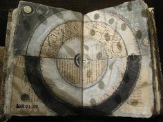 Elizabeth Bunsen- Art Journal Page Inspiration