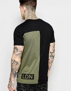 Imagen 2 de Camiseta con diseño colour block de Criminal Damage