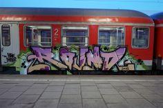 ☮✿★ HAMBURG GRAFFITI TRAIN ✝☯★☮