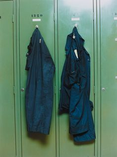 "mentaltimetraveller:""Locker Lutteurs"" by Wolfgang Tillmans, 1994"