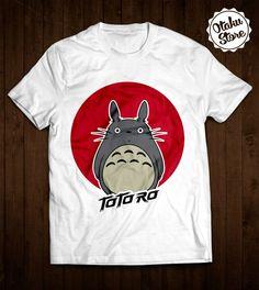 "Anime ""Tonari no Totoro / My Neighbor Totoro"" t-shirt. Anime DTG print."