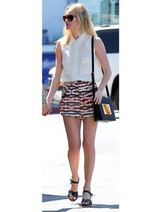 Kate Bosworth  Print Shorts <3