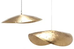 Brass 95 / 96 Pendants by Paola Navone for Gervasoni