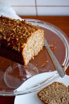 La Cucinetta: De volta às aulas com o cliché do bolo de banana... com quinua