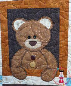 bear three; cute quilting pattern too