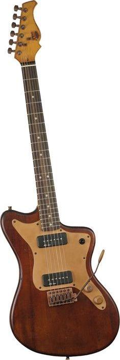 Axl Badwater MJZ Electric Guitar Antique Brown (via Musician's Friend)