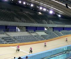 London 2012 Games Velodrome Permeable Screen