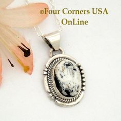 Four Corners USA Online - Sacred White Buffalo Turquoise Pendant Necklace Navajo Artisan Cathy Yazzie NAP-1628, $96.00 (http://stores.fourcornersusaonline.com/sacred-white-buffalo-turquoise-pendant-necklace-navajo-artisan-cathy-yazzie-nap-1628/)