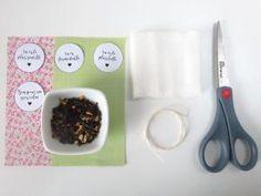 { DIY } sachet de thé pour la fête des mères + printable • Hellocoton.fr