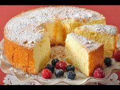 Recipe here: http://www.joyofbaking.com/AmericanSpongeCake.html Stephanie Jaworski of Joyofbaking.com demonstrates how to make an American Sponge Cake. Ameri...