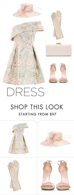 """""""Dreams come true"""" by aleks-g ❤ liked on Polyvore featuring Topshop, Mark & Graham, Stuart Weitzman and Ted Baker"""