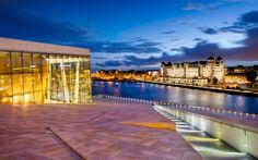 Visit Sweden, Visit Norway, Oslo Airport, Short Cruises, Oslo Opera House, Norway In A Nutshell, Visit Oslo, Cities In Europe, Parking Design