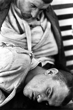 Patients in an asylum Italy