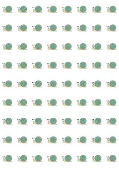 FREE printable funny snail pattern paper | #funny