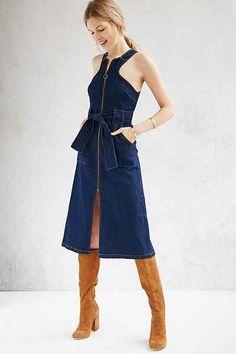 dce395e43d0a 149 Best Women s Denim Shirts   Dresses images   Blue jean shirts ...