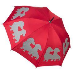 {Dachshund Puppies Umbrella}