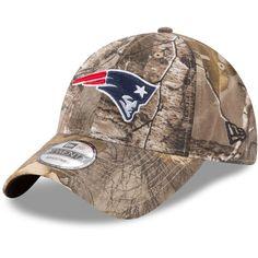 91a4fd79f4b New England Patriots New Era Realtree 9TWENTY Adjustable Hat – Realtree Camo